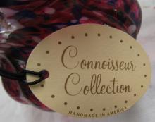 "Lot 10: Fenton Connoisseur Collection "" End of Day"" Basket, 9""H, EC"