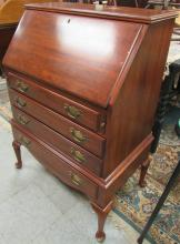 """Lot 37: Pennsylvania House Drop Leaf Desk, 28 x 18 x 40""""H, All Responsibility for Shipping will be the Successful Bidder. You must arrange for pickup directly or by a shipper within 7 days after sale."""