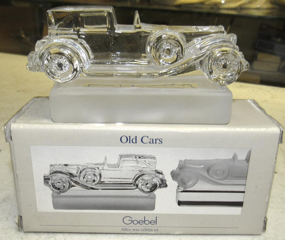 Goebel Crystal Old Car Duesenburg, MIB