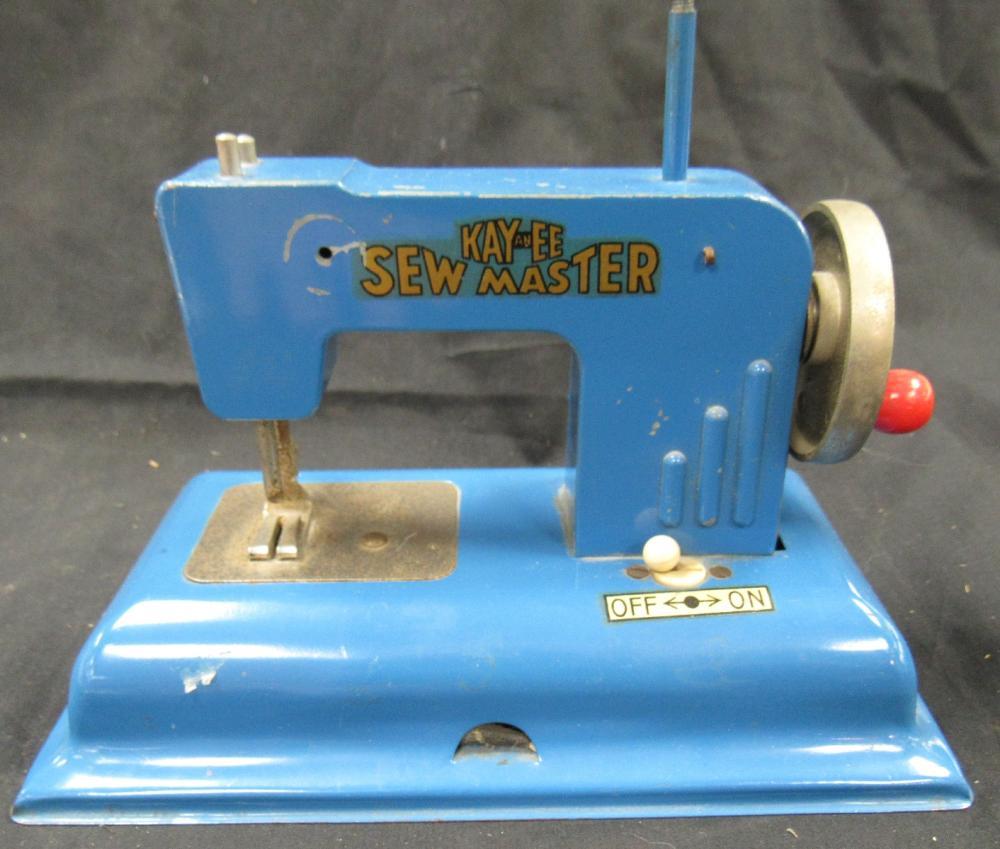 "Vintage Kay-EE Sew Master, 5 1/2"" x 8"" Long, missing one knob"
