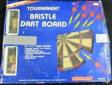 Pro Championship Dart Board Style Bristle Dartboard Tournament Game, EC