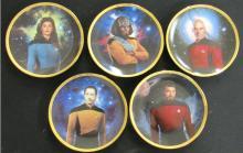 Five Star Trek The Next Generation Plates, EC