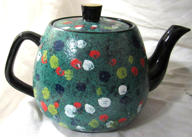 Arthur Wood #4957 Tea Pot, EC