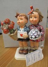 Goebel Hummel 50th Annivers. The Love Lives On #416 6 1/4