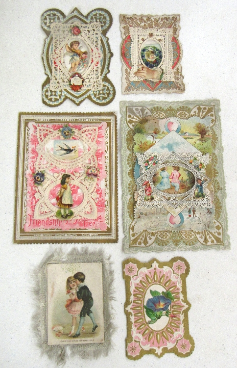 Six Antique Cards, EC