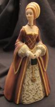 Lenox Fine Porcelain Figurine The Great Fashions of History Collection: Anne, EC