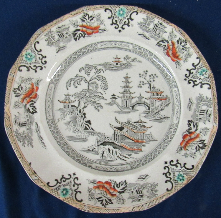 Pottery, Porcelain & Glass Pottery Official Website Adams Tunstall Large Plate