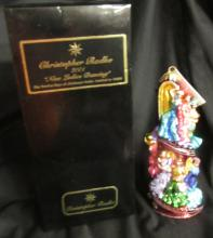 Christopher Radko Nine Ladies Dancing 12 Twelve Days Christmas Ornament Box Tag, MIB