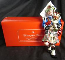 Radko 2003 Highland Eleven Twelve 12 Days of Christmas Ornament Limited Ed Box, MIB