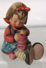 Hummel Figurine Knit One Pearl One #432 TMK 6, EC