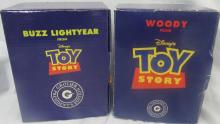 Two Grolier President's Edition Disney Toy Story Ornaments, MIB