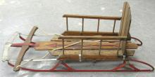 RARE Vintage Flexible Flyer Wood Sled, EC, All Responsibility for Shipping will be the Successful Bidder. You must arrange for pickup directly or by a shipper within 7 days after sale.