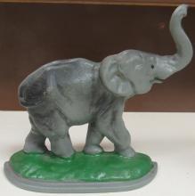 Cast iron elephant door stop, 8