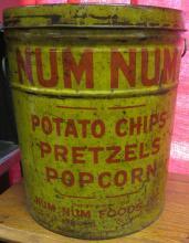 RARE Num Num Foods Inc. Tin Can, 12