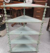 Spindle Corner Shelf, 33 1/2