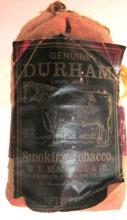 1955 Full Bag of Durham Smoking Tobacco - Durham, NC, 3 3/4
