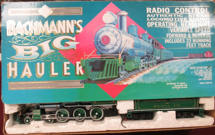 Bachmann's Big hauler Radio Control Large Scale Train Set, L