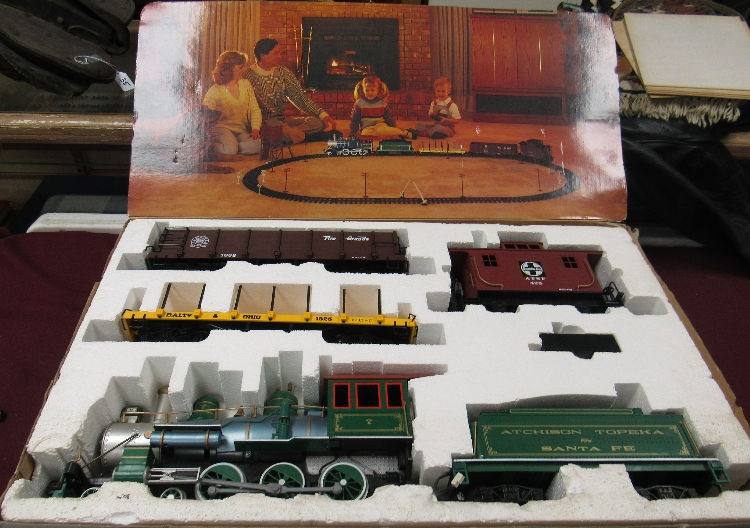 Bachmann's Big hauler Radio Control Large Scale Train Set, L