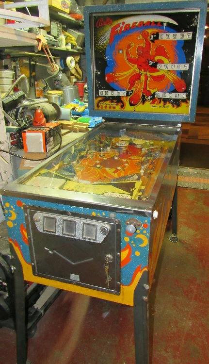 fireball pinball machine for sale