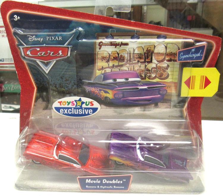 Disney Pixar Cars Toys R Us Exclusive Movie Doubles Mint Co