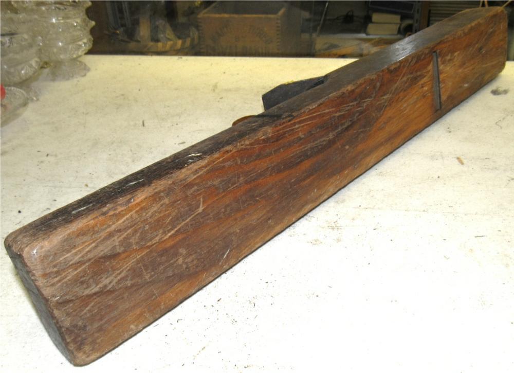 Antique Vintage Large Wooden Block Plane Planer 26