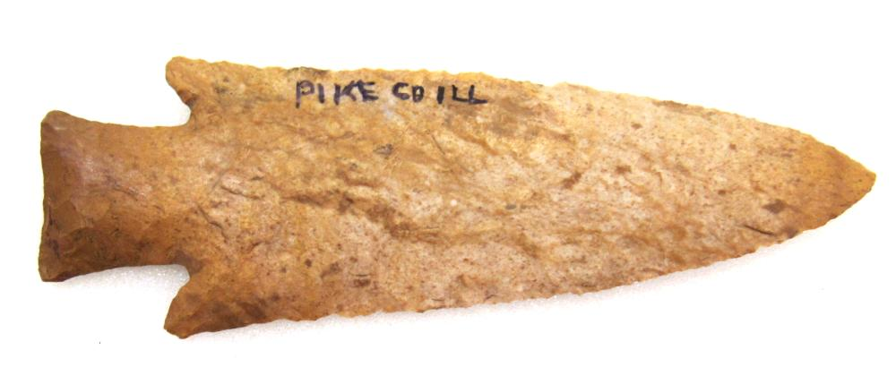 """Hardin Point Found In Pike County, Illinois, Ohio Collection, 4 1/2"""" Long"""