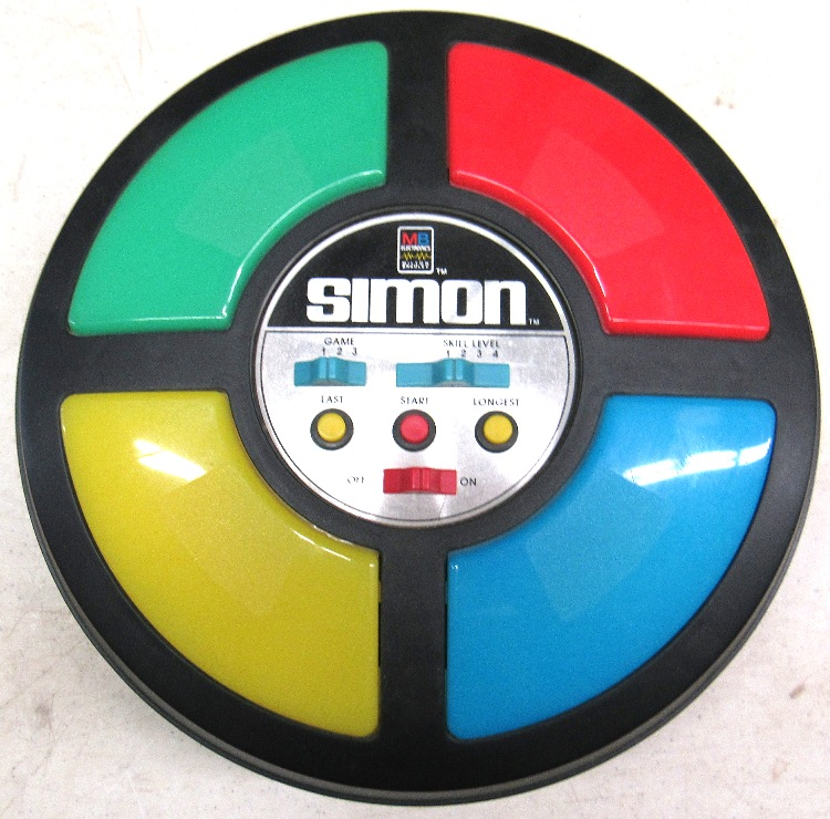 Vintage 1978 Original Simon Says Electronic Game Milton Brad