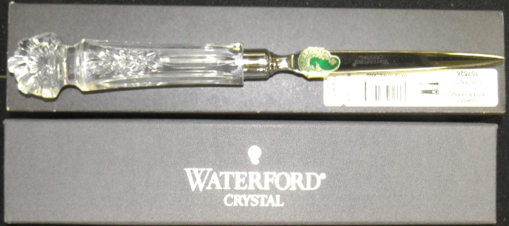 Waterford Crystal letter opener, MIB