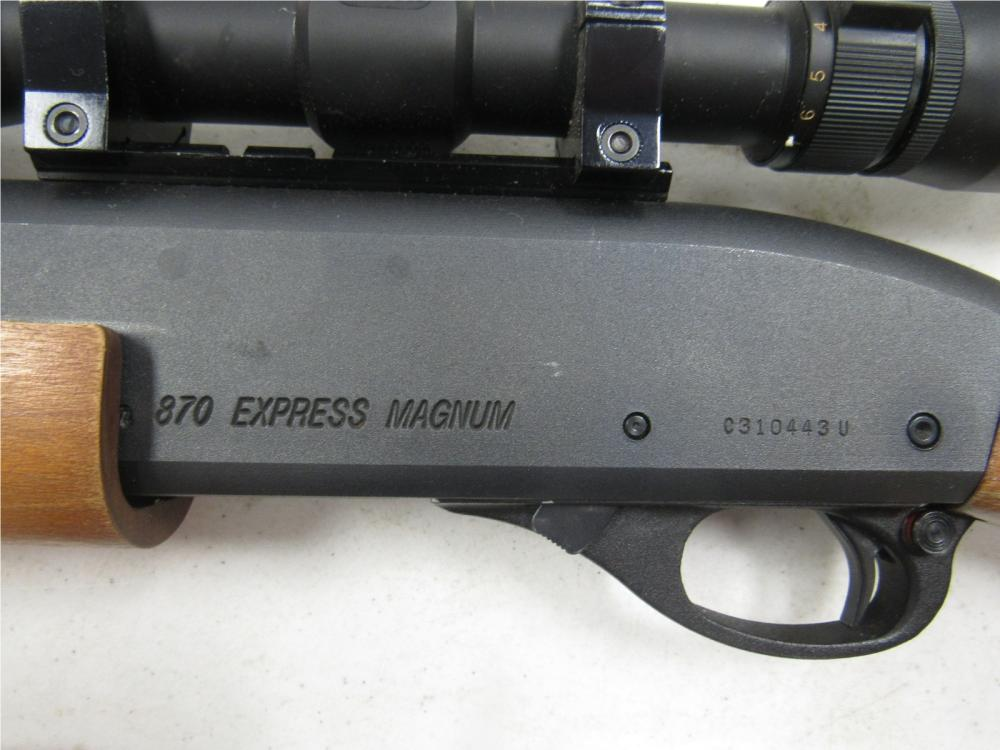 Dating Remington 870 av serie nummer