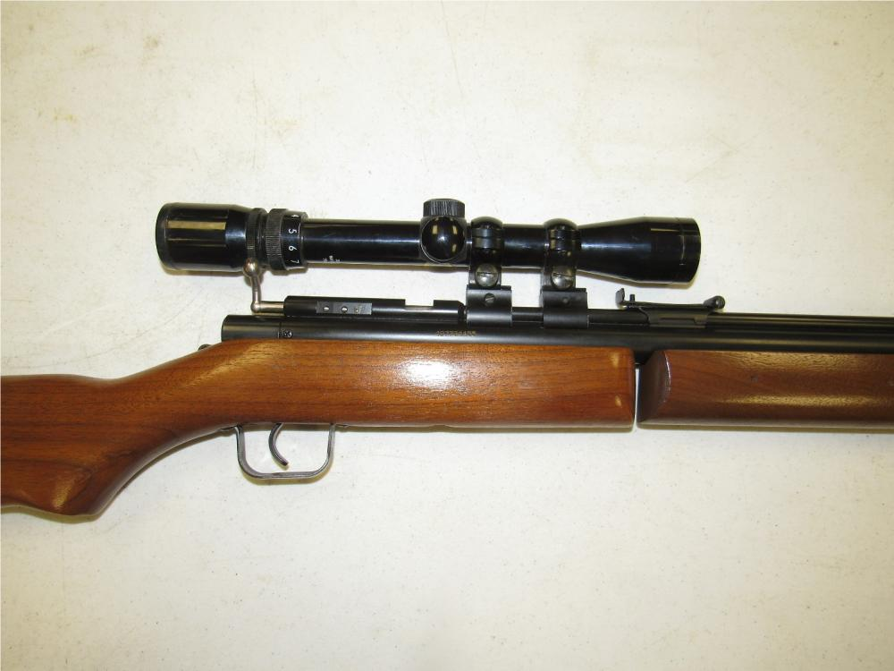 Benjamin Sheridan Pump Action Air Rifle, ,22 Cal , Bushnell