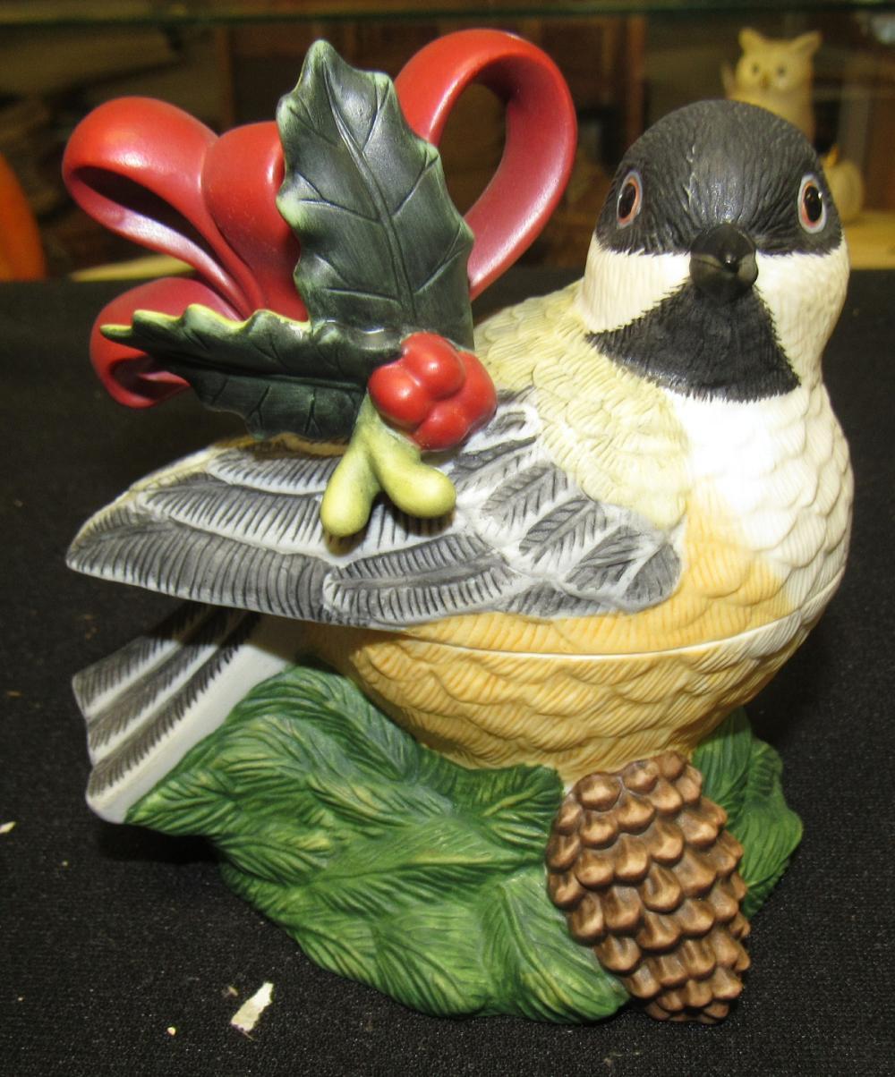 Lenox Winter Greetings Chickadee Sugar, Mint