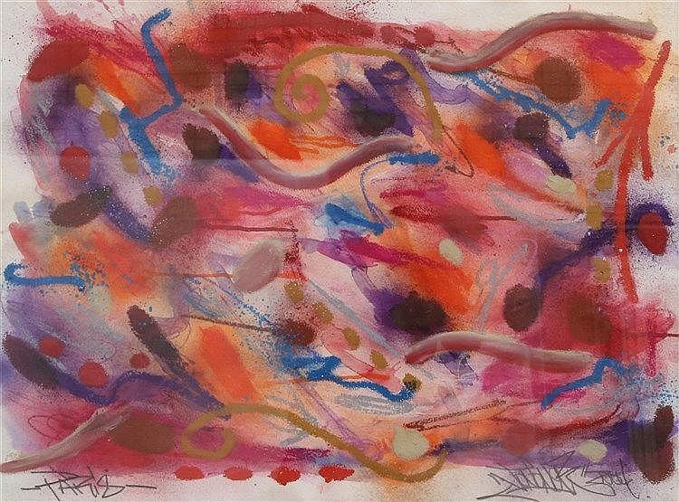 JonOne (American/French, b. 1963)