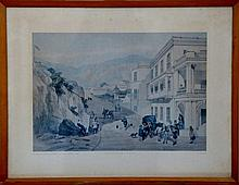 Date: 1846   Wyndham Street, From the Post Office