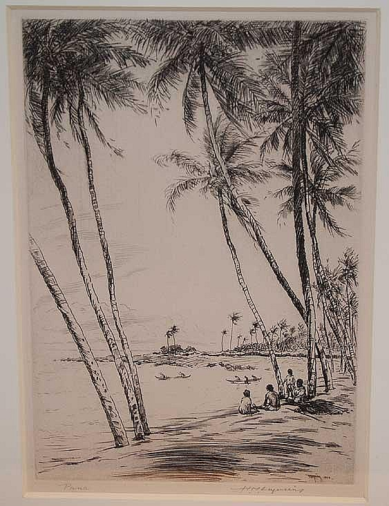 Huc-Mazelet Luquiens (American 1881 - 1961),