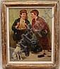 John Henry Henrici (American, 1863-1958) Two Boys, John Henry Henrici, Click for value