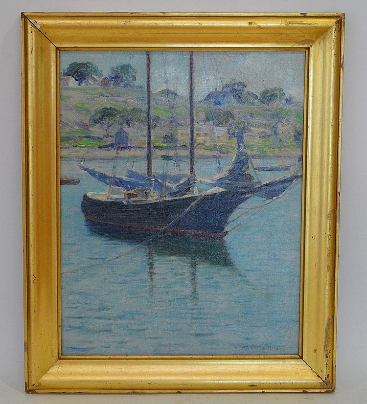 Charles Curtis Allen (Am. 1866-1950) Off the Coast Signed