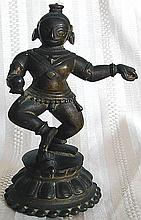 Antique Nepal Female Folk Bronze 6