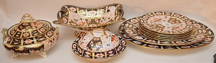 11 Piece Royal Crown Derby