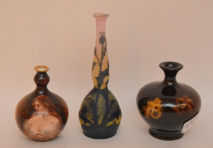 Mini Rookwood vase (3 3/4