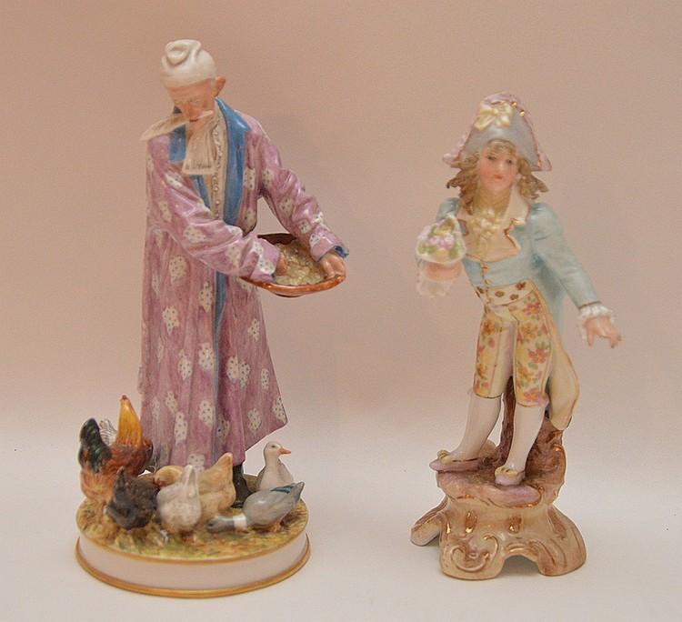 B & G Orientalist & Rudelstadt figures, 6 1/2