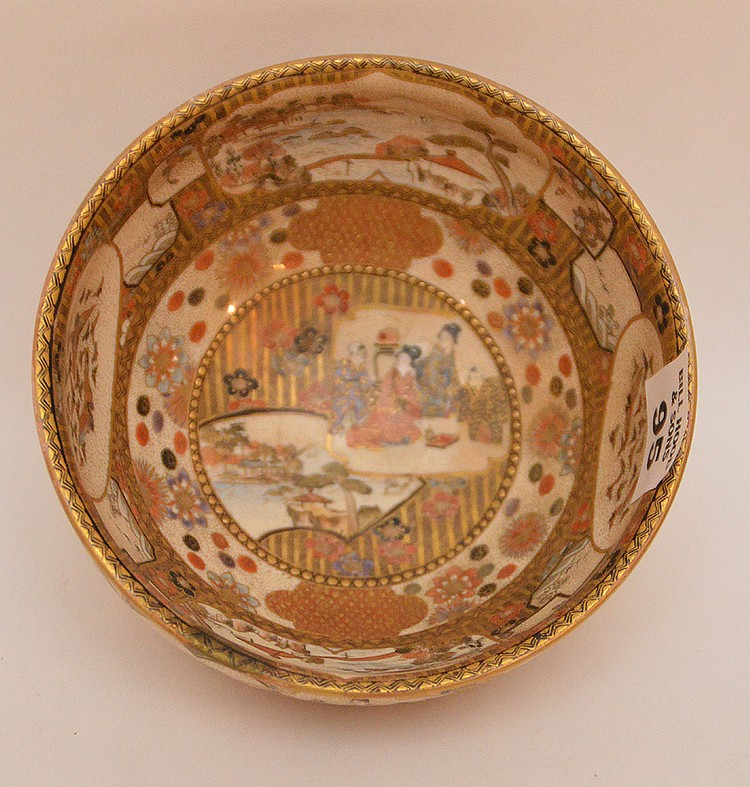 Meji period Satsuma small bowl, 2 1/2