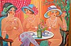 Hilda Gleizer Rindom  (American 20th century) oil painting on canvas, 30in. x 40in.