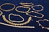 (10) assorted sterling silver bracelets