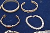 (10) assorted sterling bracelets