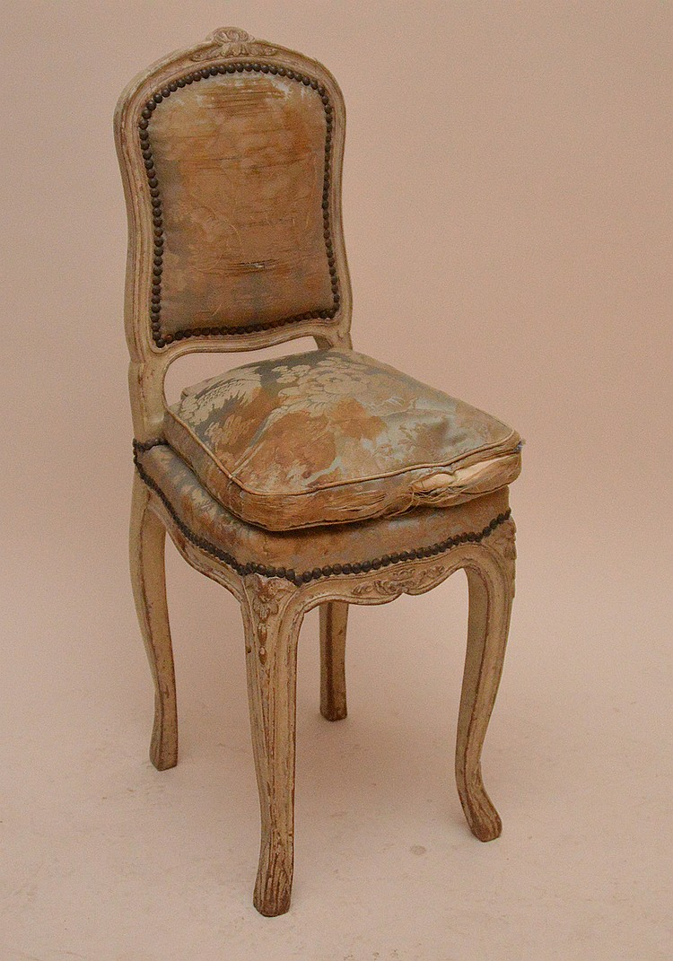 Diminutive Louis XVI chair, 34