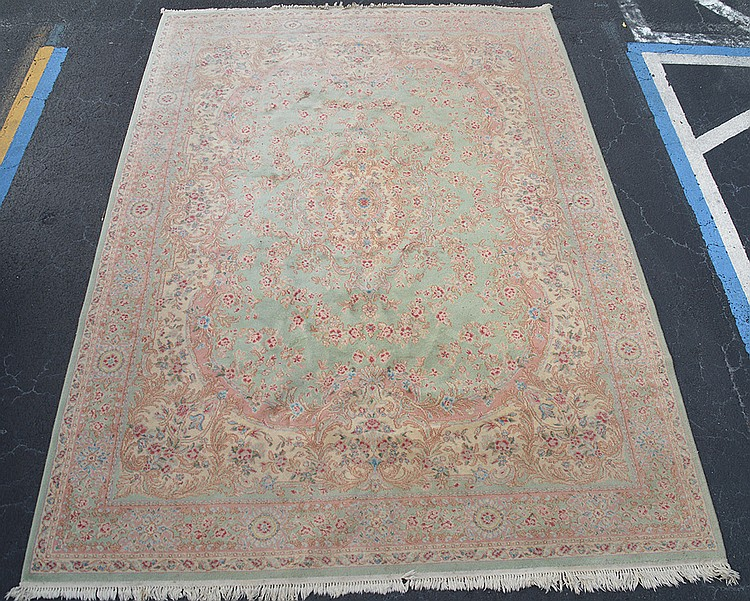 Persian Kirman Rug 9' x 12'