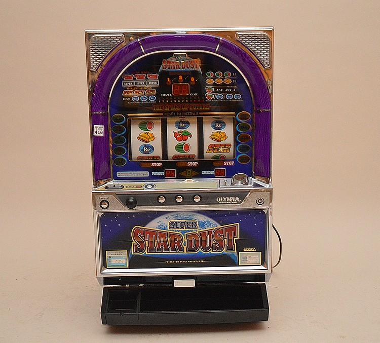 Super Star Dust electric slot machine