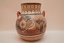 Mexican pottery vase, Ionaaia Yuka, 14