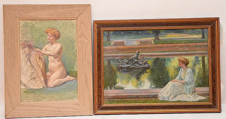 Maurice Jean Lefebvre (Belgian, 1873-1954),
