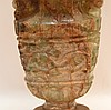 jade/ quartz urn style lamp 30 inches high